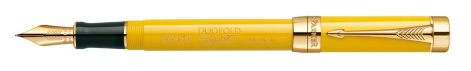 Parker unveils the Duofold Mandarin Yellow Limited Edition!