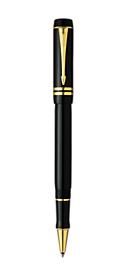 Bút lông bi Parker Duofold 05 Centennial Black GT RB