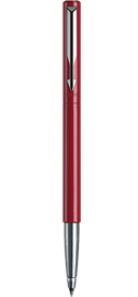 Viết lông bi Parker Vector vỏ nhựa đỏ cài trắng