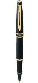 Viết lông bi Expert II Black cài vàng