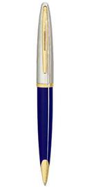 Viết bi Carene Deluxe Blue/Silver cài vàng