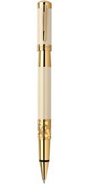 Viết lông bi Elegance Ivory cài vàng