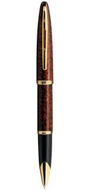 Viết lông bi Carene Marine Amber Marbled Lacquer cài vàng