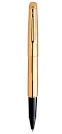 Viết lông bi Hemisphere Gold Chiseled cài vàng